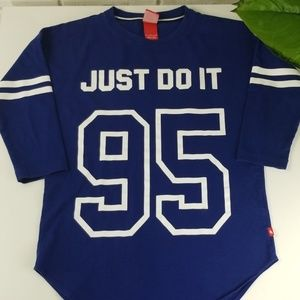 """Nike """"Just Do It"""" Cotton Jersey Tshirt"""